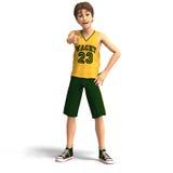 Young man, basketball player