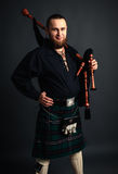 Scottish piper Stock Image