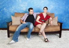 Young Man With Beautiful Woman Royalty Free Stock Photography