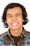 Young man with a big smile Royalty Free Stock Image