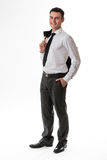 Young man in business clothes. Stock Images