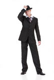 Young Man In Carnival Suit Royalty Free Stock Images