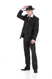 Young Man In Carnival Suit Stock Image