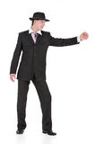 Young Man In Carnival Suit Royalty Free Stock Photography
