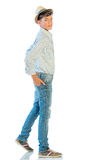 Young Man In Casual Clothes Royalty Free Stock Photos