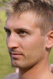 Young man close-up Stock Photo