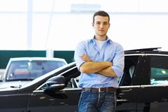 Young man consultant Royalty Free Stock Photos
