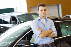 Young man consultant Royalty Free Stock Photo