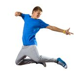 Young man dancer Stock Photos