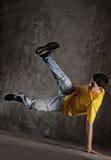 Young man dancing  Stock Photography