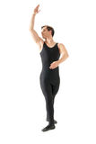 Young man dancing ballet isolated on white Stock Image