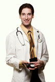 Young man doctor Stock Images