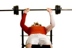 Young Man Exercising Stock Photos