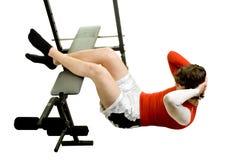 Young Man Exercising Stock Image