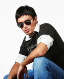 Young Man fashion style Royalty Free Stock Photo
