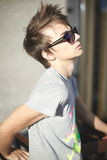 Young man fashion stylish man Stock Images