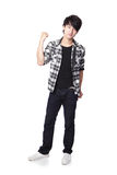 Young man in full body Stock Photos