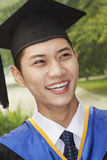 Young Man Graduating From University, Close-Up Portrait Stock Photos