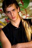 Young man grunge Stock Photos