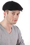 Young Man In A Hat Royalty Free Stock Image