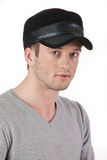Young Man In A Hat Royalty Free Stock Images