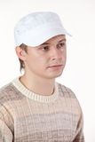 Young Man In A Hat royalty free stock photography