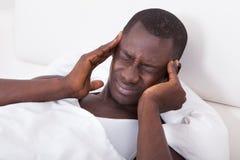 Young Man Having Headache Royalty Free Stock Photo