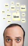 Young man having an idea Stock Photos