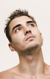 Young man head Stock Images