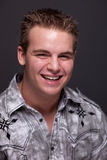 Young Man Headshot Royalty Free Stock Image
