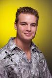 Young Man Headshot Royalty Free Stock Photos
