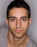 Young Man Headshot Stock Image