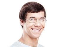 Young man headshot Royalty Free Stock Images