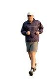 Young Man Jogging Royalty Free Stock Image
