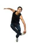Young man jump Stock Photography