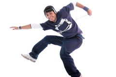 Young man jump Royalty Free Stock Photography