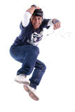 Young man jump Stock Image