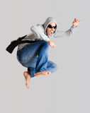 Young man jumping Royalty Free Stock Photo