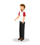 Young man lifestyle avatar. Vector illustration design Stock Photography