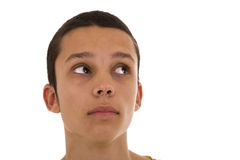 Young man looking Stock Photography