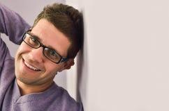 Happy men Stock Images