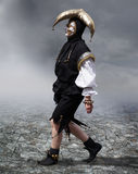 Young man with medieval mask. Masquerade: Young man with medieval mask Stock Image