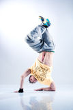 Young man modern dance Stock Photo