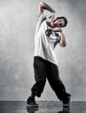Young man modern dance Stock Photos