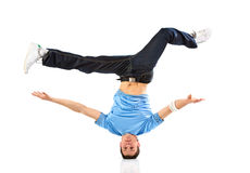 Young man modern dance Stock Images