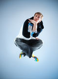 Young man modern dance Royalty Free Stock Photography