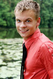 Young man outdoor Royalty Free Stock Photography