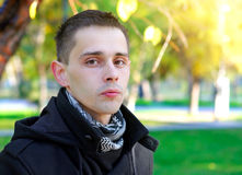 Young Man outdoor Royalty Free Stock Images