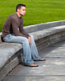 Young Man Outside Stock Images