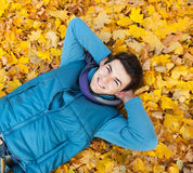 Young man in park. Stock Images